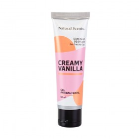 Gel Antibacterial Creamy Vanilla 60 ml