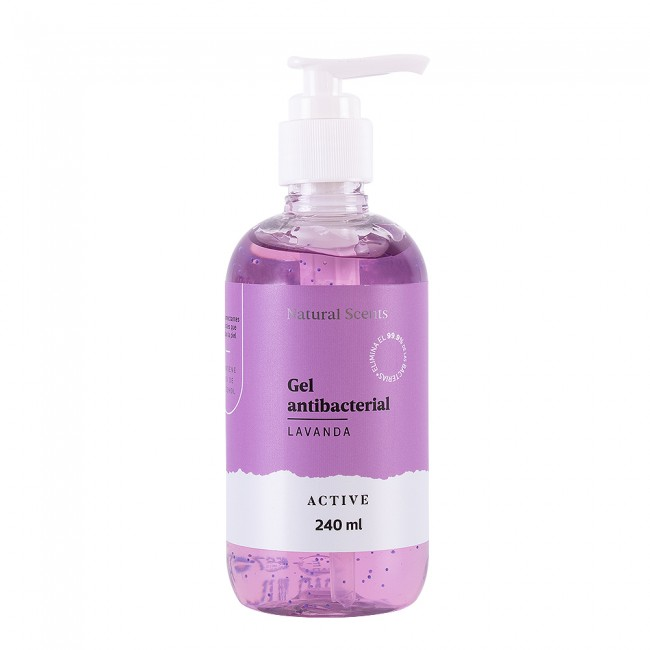 Gel Antibacterial Lavanda 240 ml