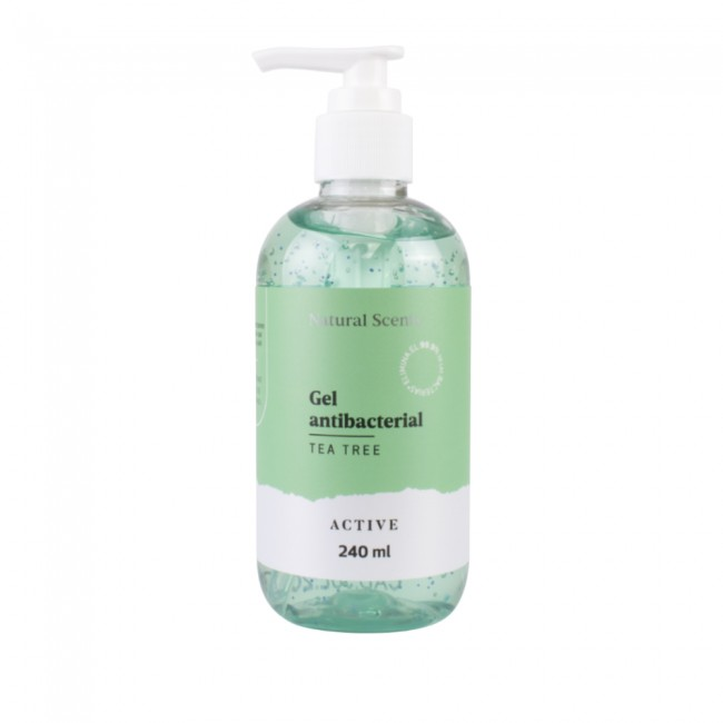 Gel Antibacterial Tea Tree 240 ml