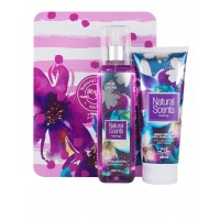 Duo Box Metálico White Orchid 2 pz