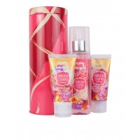 Mini Kit Travel Lata Metálica Peony Bouquet 3 pz