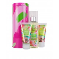 Mini Kit Travel Lata Metálica Sweet Paradise 3 pz