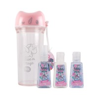 Mini Kit Unicornio Rosa Unicorn Poop 3 pz