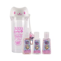 Mini Kit Gatito Blanco Sweet Kiss 3 pz